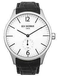 Ben Sherman Men's WB003BA Spitalfields Professional Analog Display Quartz Black Watch