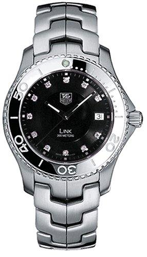 0375c656f34 Image Unavailable. Image not available for. Colour  TAG Heuer Men s  WJ1113.BA0575 Link Diamond Accented Quartz Bracelet Watch
