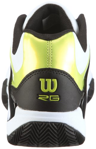 ... Wilson Trance Strike WRS982300065 Herren Sportschuhe - Tennis Weiss/ White/Black/Lime ...
