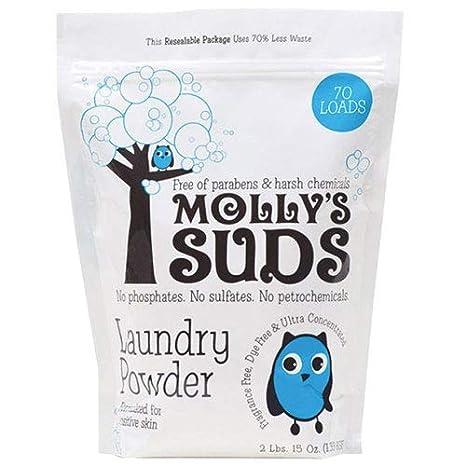 Mollys Suds - Polvo para la colada (70 cargas, jabón ...