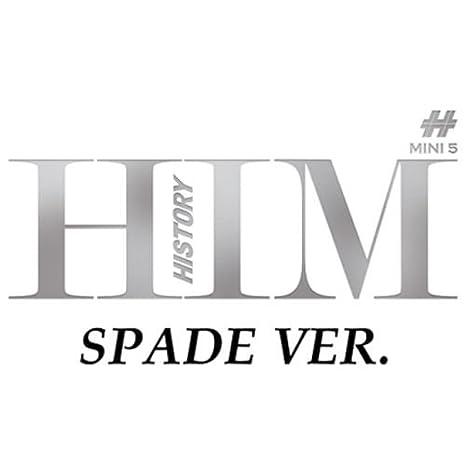Cd+Photobook+Photocard 5Th Mini Album Him Spade Ver. Loen Entertainment History