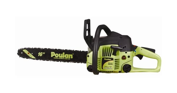 Amazon.com: Poulan p3416 16-Inch 34 cc 2-Cycle gas-powered ...