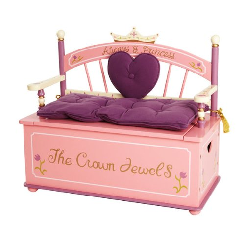 Princess Bench Seat W/ Storage ()