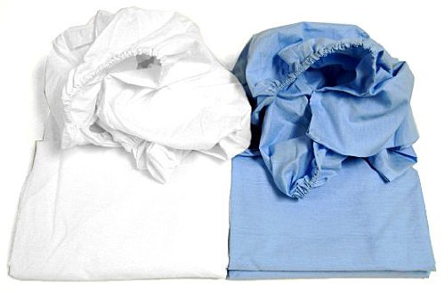 Cot Sheets (Fitted, Flat, Sets), 1 Fitted Cot Sheet - (Fitted Cot)