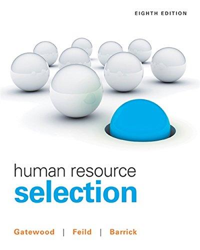 Human Resource Selection (8 Wonders Of The World List 2013)