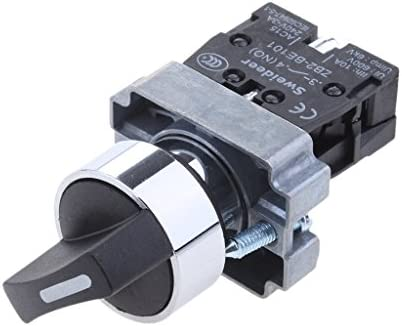 22mm 回転ボタンスイッチ XB2-BD21 オン/オフ 2速トリガ選択スイッチ アクセサリー 部品