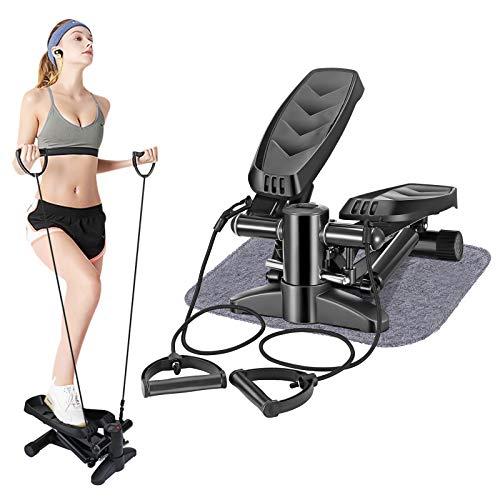 Vogvigo Stepper Machine, stappenmachine met led-display, weerstandsband en antislipmat, trainingsapparatuur voor…