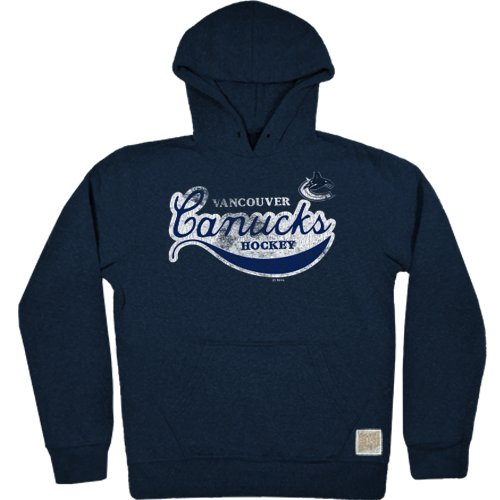 NHL Vancouver Canucks Men's Tri-Blend Fleece Hoodie, X-Large, (Vancouver Canucks Fleece)