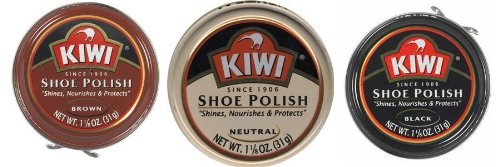 Kiwi Brown/Black/Neutral 1-1/8oz 3 Pack (1 ea - Black & Brown