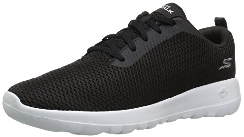 Walking Black Go Skechers Joy Women's White 15601 Shoe xwA4fFIq