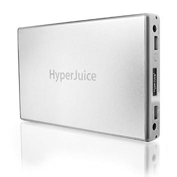 Sanho HyperJuice 2 - Batería externa para ordenador portátil, plateado: Amazon.es: Informática