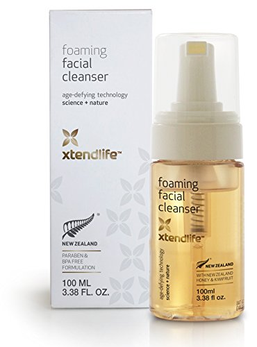 Foaming Facial Cleanser by Xtend-Life | With New Zealand Manuka Honey & Kiwifruit For A Healthy Fresh Complexion