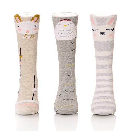 Color City Unisex Baby Girls Socks Toddler Knee