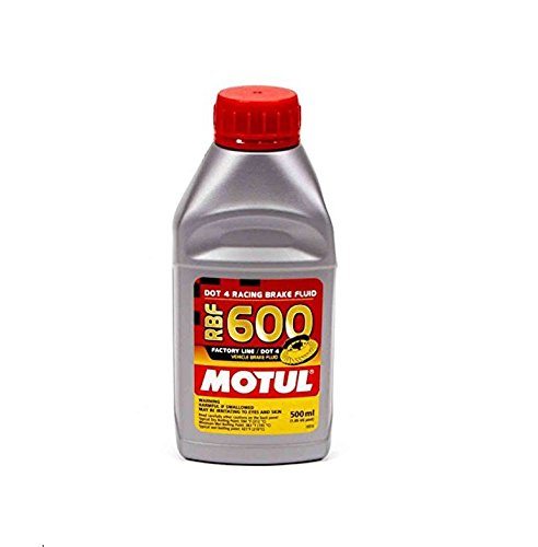 Motul 8068HL RBF 600 Factory Line Dot-4 100 Percent Synthetic Racing Brake Fluid - 500 ml