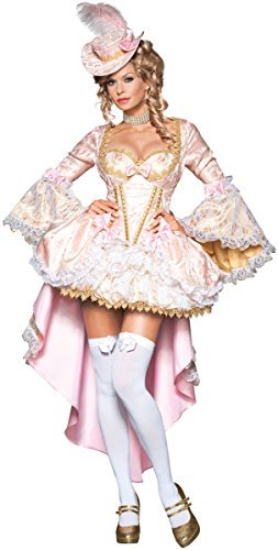 Vixen of Versailles Costume - Small - Dress Size (Sexy Marie Costumes)