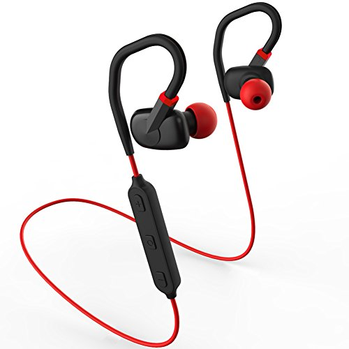 merdumia wireless bluetooth headphones noise cancelling sport headset with m. Black Bedroom Furniture Sets. Home Design Ideas