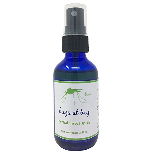 Bugs at Bay Mosquito Spray - DEET-Free Insect Repellent Made in The USA - Not Sticky or Oily - Bug Spray Protects Kids and Adults from Biting, Flying Bugs - 100% Natural, Non-Toxic ()
