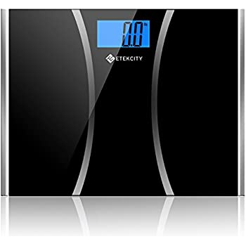 Etekcity Digital Body Weight Scale with Step-on Technology, 400 Pounds (EB9312)
