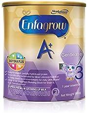 Enfagrow A+ Stage 3 Gentlease Toddler Milk Formula 360 DHA+ , 1-3 years, 900g