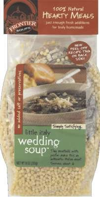 Frontier Soups Little Italy Wedding Soup Mix  9 Ounce