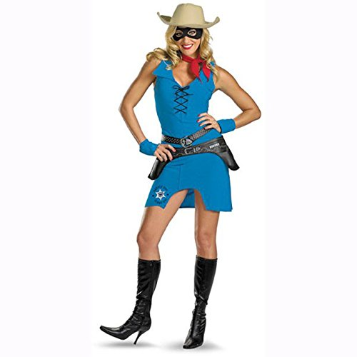 Disguise Costumes - Adult Women - Sexy Lone Ranger Costume (Women's Adult Medium 8-10) - Medium