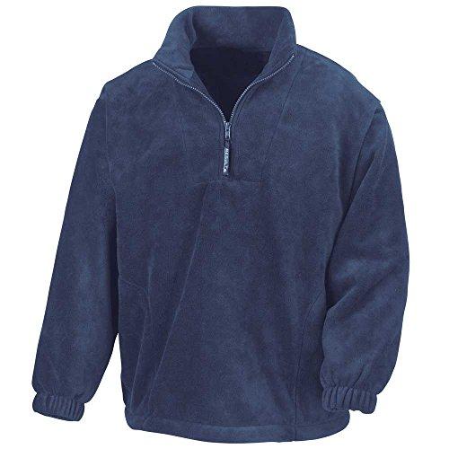 Fleece Navy Mens Half Active Result Zip Jackets 7Iw1AxxSq