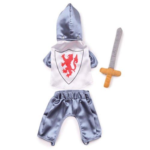 Zack & Zoey Polyester Knight Dog Costume, X-Small, Silver