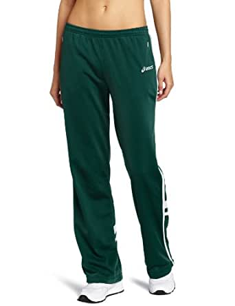 ASICS Women's Cabrillo Pant,Forest/White,X-Small
