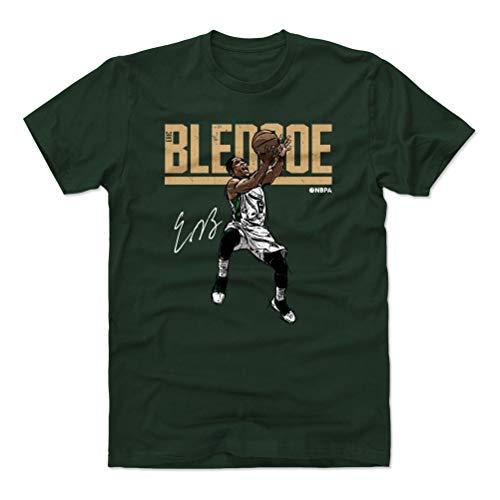 500 LEVEL Eric Bledsoe Cotton Shirt (X-Large, Forest Green) - Milwaukee Basketball Men's Apparel - Eric Bledsoe Hyper D WHT