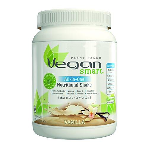 VeganSmart Plant Based Vegan Protein Powder by Naturade,  All-In-One Nutritional Shake – Vanilla 22.75 oz Review