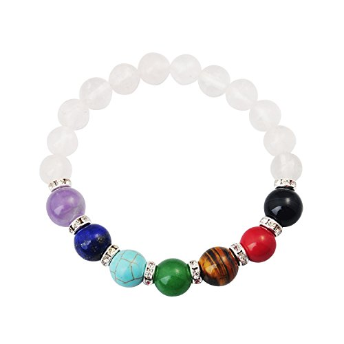 JoyaGift Elastic Gemstone Bracelet Combination