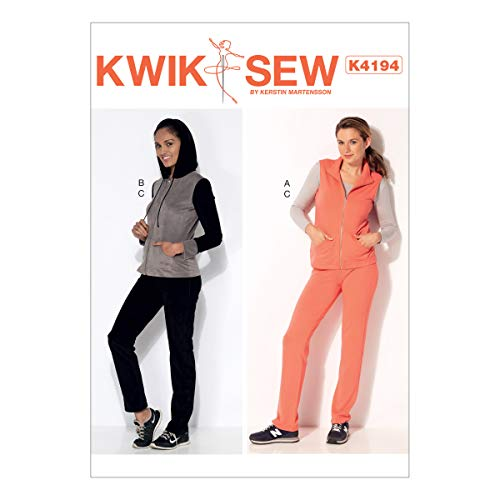 McCall Pattern Company Kwik Sew K4194 Misses' Stand-Up Collar Jacket