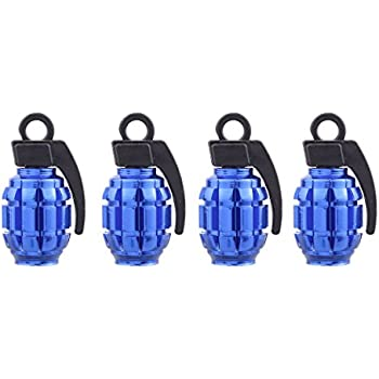 Amazon Com Tomall Valve Caps Hand Grenade Style For Truck
