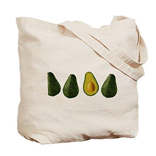 CafePress aguacates––Gamuza de bolsa de lona bolsa, bolsa de la compra