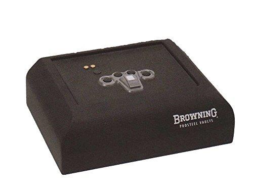 Browning PV500 Pistol Vault w/Biometric Keypad,Textured Black 1601100232 (Browning Plates)