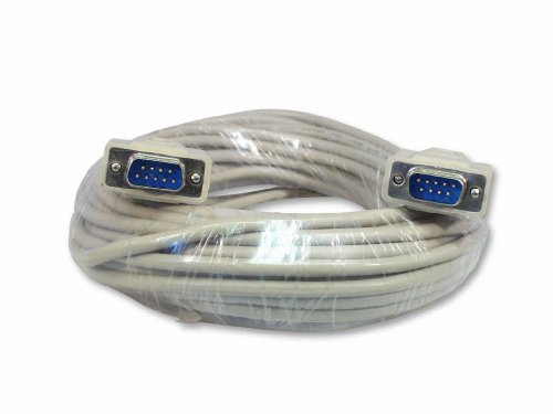 Your Cable Store 50 Foot DB9 9-Pin Serial Port Cable Male/Male RS232