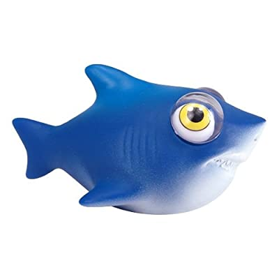Warm Fuzzy Toys Poppin Peepers Shark: Toys & Games