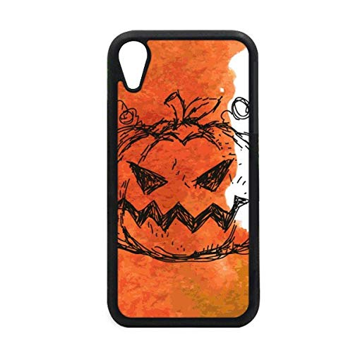 Hand Painted Pumpkin of Halloween iPhone XR iPhonecase Cover Apple Phone Case