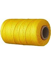 Toolland HE950100 metselaartouw, 100 m x Ø 1,2 mm, geel