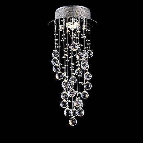 TRADE® Elegante Cristal Lámpara de Techo Candelabro Esfera ...