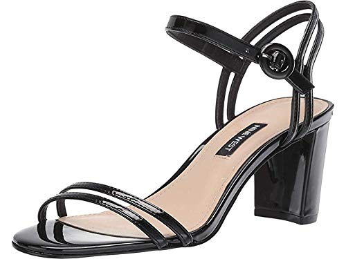 Nine West Women's Piper Heeled Sandal Black 2 6.5 M US