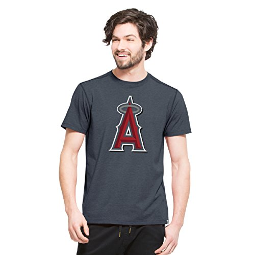 MLB Los Angeles Angels Men's High Point Tee, Large, Shift Navy