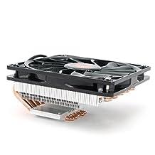 ID-COOLING IS-50 TDP 130W, 5 Direct Touch Heatpipe, 120mm Big Airflow Fan, 55mm Height, Intel LGA1150/1155/1156/775 & AMD FM2(+)/FM1/AM3(+)/AM2(+)