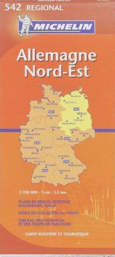 Download Michelin Germany Northeast: Mecklenburg-vorpommern, Sachsen-anhalt, Brandenburg, Berlin (Michelin Map) pdf epub