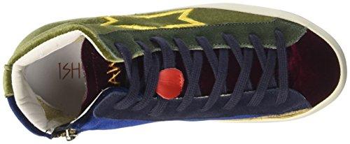 ISHIKAWA Unisex-Erwachsene High Top Multicolore (Tricolor)