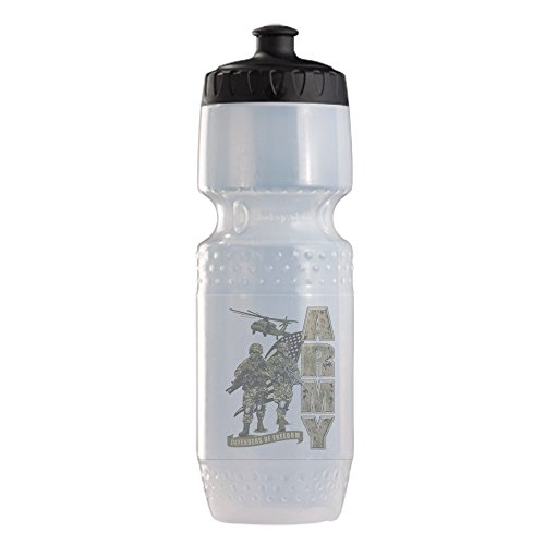 Sports Beverage Water Cycle Bottle US Army Defenders Freedom Soldiers by Royal Lion