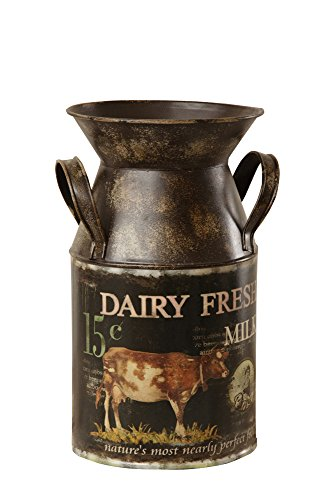 Your Heart's Delight Dairy Fresh Milk Can, 5 1/2 x 9 3/4 x 5 1/2