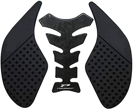 SHANGHh Motorcycle Gas Tank Traction Pads Fuel Tank Grips//Side Stickers Knee Grips Protectors Decal fit for Longjia Qingqi Ranger General Black