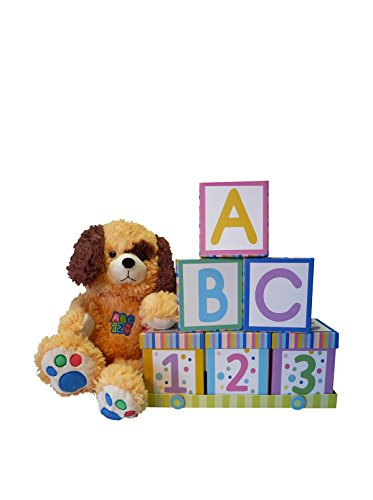 ABC's and 123's Baby Gift Set, Neutral for Boys or Girls, Large