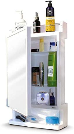 Parasnath Strong and Heavy Rich Look Bathroom Cabinet with Mirror – Made in India
